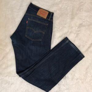 Levi 514 blue jeans size 32 x 32(30)